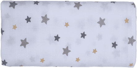 GLOOP Pieluszka muślinowa 70x70 Stars