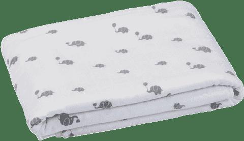 GLOOP Dětská deka z organické bavlny Elephants