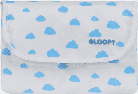 GLOOP Malá přebalovací podložka Blue Clouds