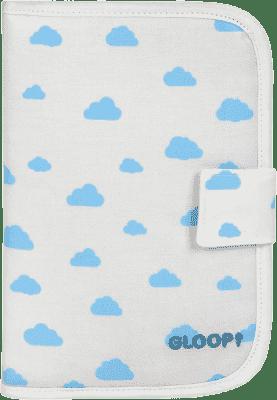 GLOOP Etui na dokumenty dziecka Blue Clouds