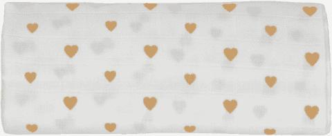 GLOOP Pieluszka muślinowa 100x100 Little Hearts (2 szt.)