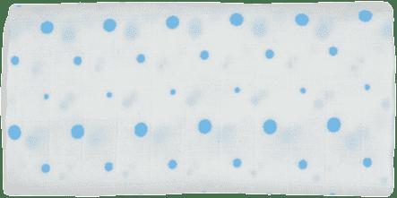 GLOOP Pieluszka muślinowa 70x70 Blue Dots (2 szt.)