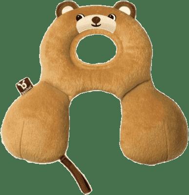 BENBAT Nákrčník s opierkou hlavy 0-12 m - medveď