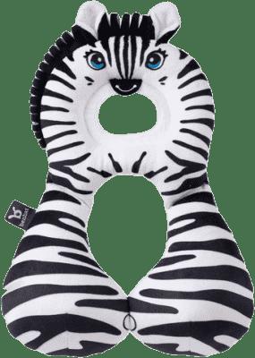 BENBAT Nákrčník s opierkou hlavy 1-4 roky - zebra