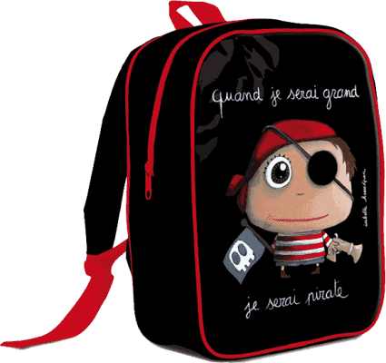 LABEL TOUR Duży plecak Pirat