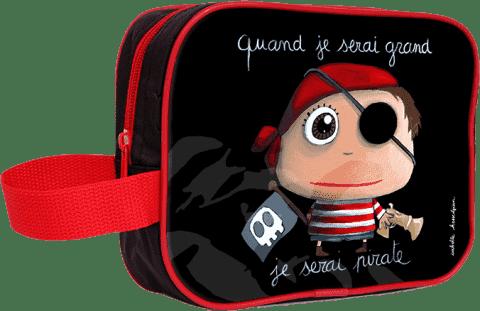 LABEL TOUR Toaletná taška Pirát