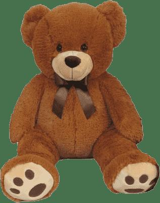 MAC TOYS Plyšový medvedík svetlo-hnedý, 60 cm