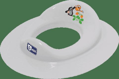 G-MINI Nakładka na WC Krecik i truskawka, szara