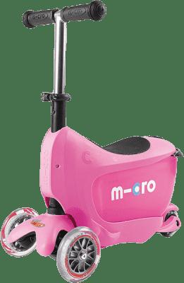 MICRO Mini2go kolobežka, ružová