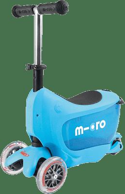 MICRO Mini2go kolobežka, modrá