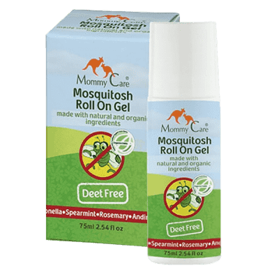 MOMMY CARE Summer and Sun Mosquitoes Roll on Gell – Přírodní repelent s roll-on aplikátorem 70 ml