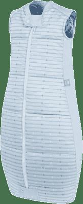 ERGOPOUCH Organic Cotton - Spací vak Blue Stars & Stripes 2-12 m