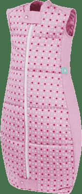 ERGOPOUCH Organic Cotton - Spací vak Pink Polka Dots 12-36 m
