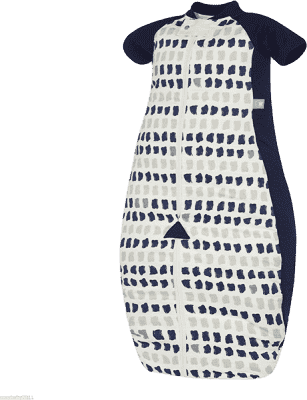 ERGOPOUCH Sleep suit Bag - Spací vak Navy Paint 2-12m