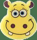 OSMOST Wesołe gąbeczki - Hipopotam Szymon