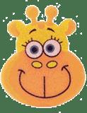 OSMOST Veselé houbičky - Žirafa Emilka
