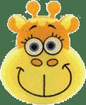 OSMOST Wesołe gąbeczki - Żyrafa Terka