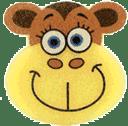 OSMOST Veselé houbičky - Opička Bára