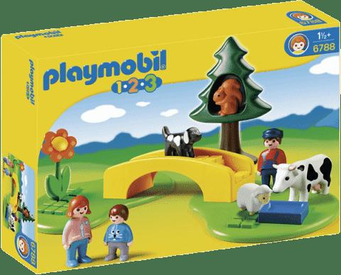 PLAYMOBIL Procházka na louce (1.2.3)