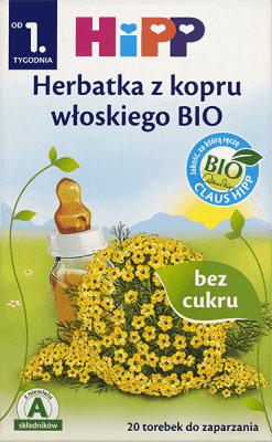 HIPP Herbatka z kopru włoskiego BIO 30g