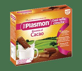 4x PLASMON Kakaové sušenky 75g