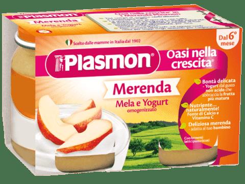PLASMON Jogurt Jablečný 2x120g