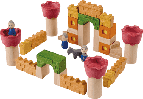 PLAN TOYS Kocky - hrad