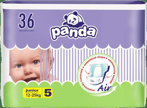 BELLA PANDA Junior (12-25 kg) 36 szt. - pieluszki jednorazowe