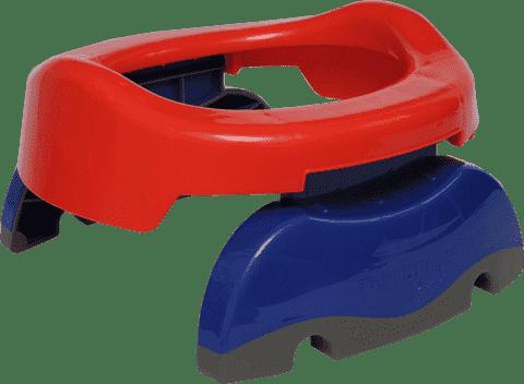 POTETTE PLUS 2v1 Cestovný nočník / Redukcia na WC - červená / modrá