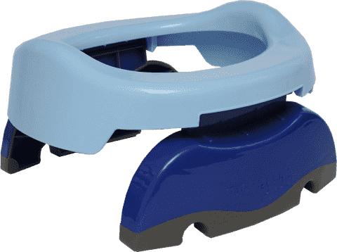 POTETTE PLUS 2w1 Składany nocnik turystyczny / Redukcja na WC – niebieski