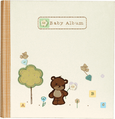 FOTOALBUM Natural Baby pro 144 fotografií 10x15 cm