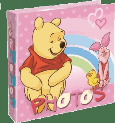 FOTOALBUM Winnie the Pooh 200 fotografií (10x15cm) - růžové