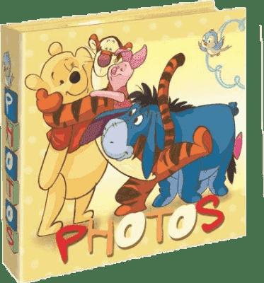 FOTOALBUM Winnie the Pooh 200 fotografií (10x15cm) - žluté