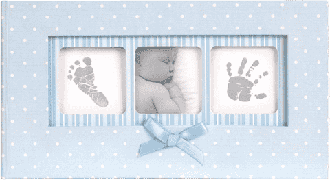 FOTOALBUM Baby Polka Dot 100 fotografií (10x15cm) – modrý