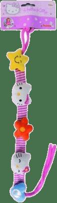 SIMBA Hello Kitty Łancuszek na wózek / fotelik samochodowy 40 cm, materiałowy