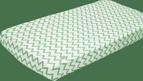 LODGER Prostěradlo Slumber Cotton do kolébky 40x80cm – Anise