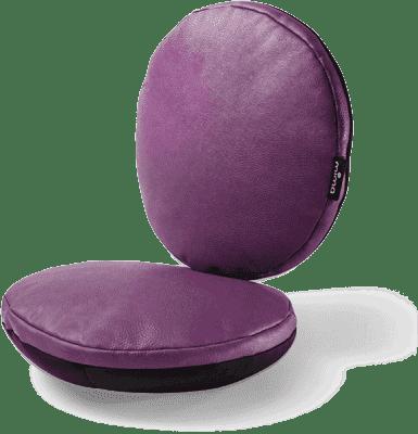 MIMA Sada sedacích polštářků do židličky Moon AUBERGINE
