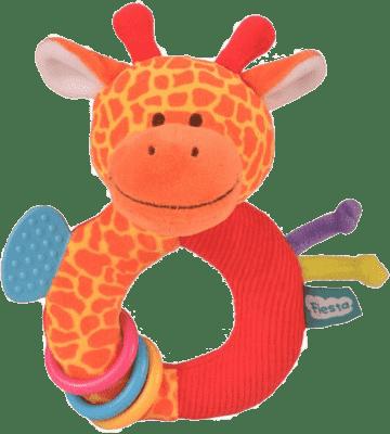 FIESTA CRAFTS Hrkálka s hryzátkom - Žirafa