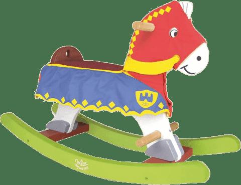 VILAC Drevený hojdací kôň pre rytiera