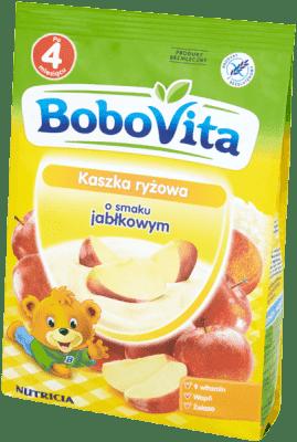 BOBOVITA Kaszka ryżowa o smaku jabłkowym (180g)