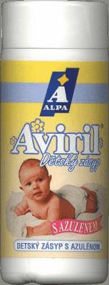 AVIRIL detský púder s azulenom 100g - proti zapareninám