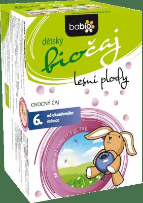 BABIO Detský biočaj lesné plody 20x1,5 g