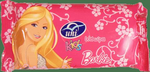 UNI Barbie 15 szt. - chusteczki nawilżane