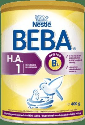 NESTLÉ BEBA HA 1 Good start (400 g) - dojčenské mlieko