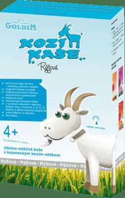 KOZIA KAŠA Ryžová (4m+), 225 g
