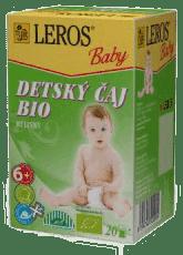 LEROS BABY BIO dětský čaj bylinný 20x2g