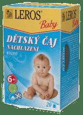 LEROS BABY detský čaj Nachladenie 20x2g