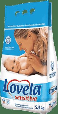LOVELA Sensitive 5,4kg (60 dávek) - prací prášek