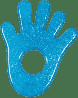 MUNCHKIN Modré chladivé gelové kousátko ruka/noha