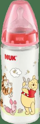 NUK First Choice fľaša Disney PP, 300 ml, silikón (0- 6 m), M – červená